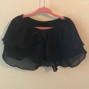 Size 4/5 black ballet skirt